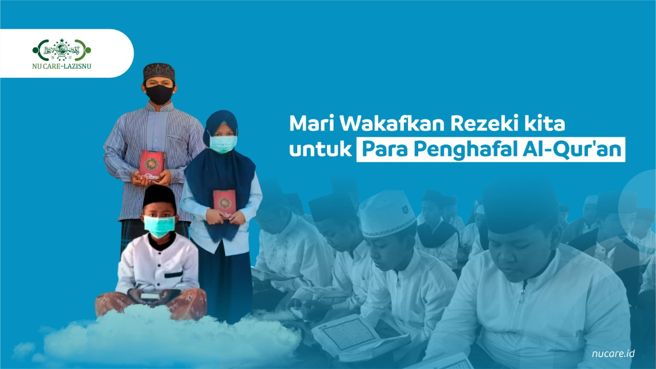 Wakaf Sejuta al-Qur'an untuk Santri Tahfidz