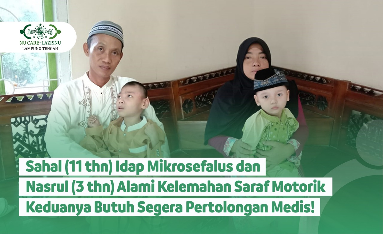 Bantu Sahal dan Nasrul Segera Dapatkan Pertolongan Medis!