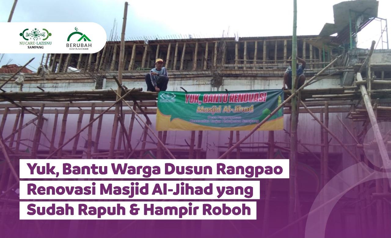 Mari Bantu Renovasi Masjid Tua di Pelosok Madura