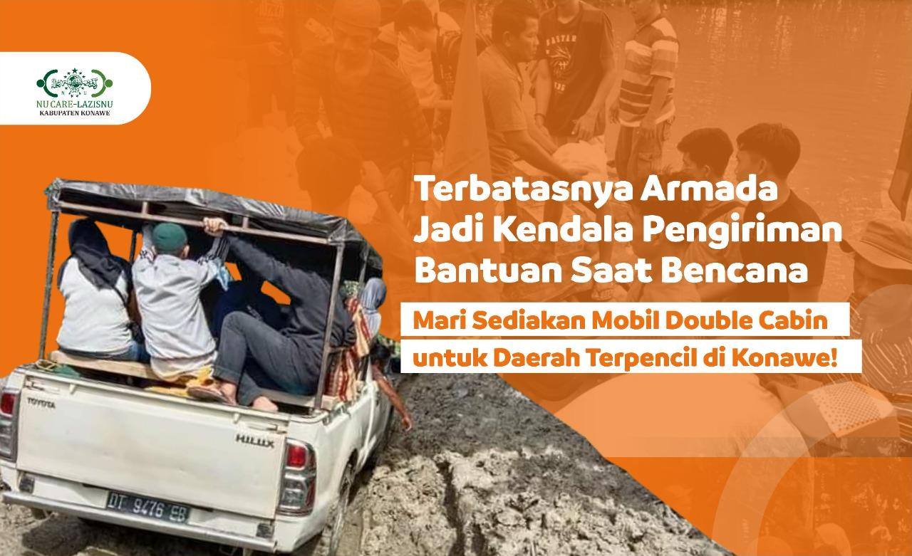 Bantu Pengadaan Mobil Siaga Bencana untuk Masyarakat Konawe!