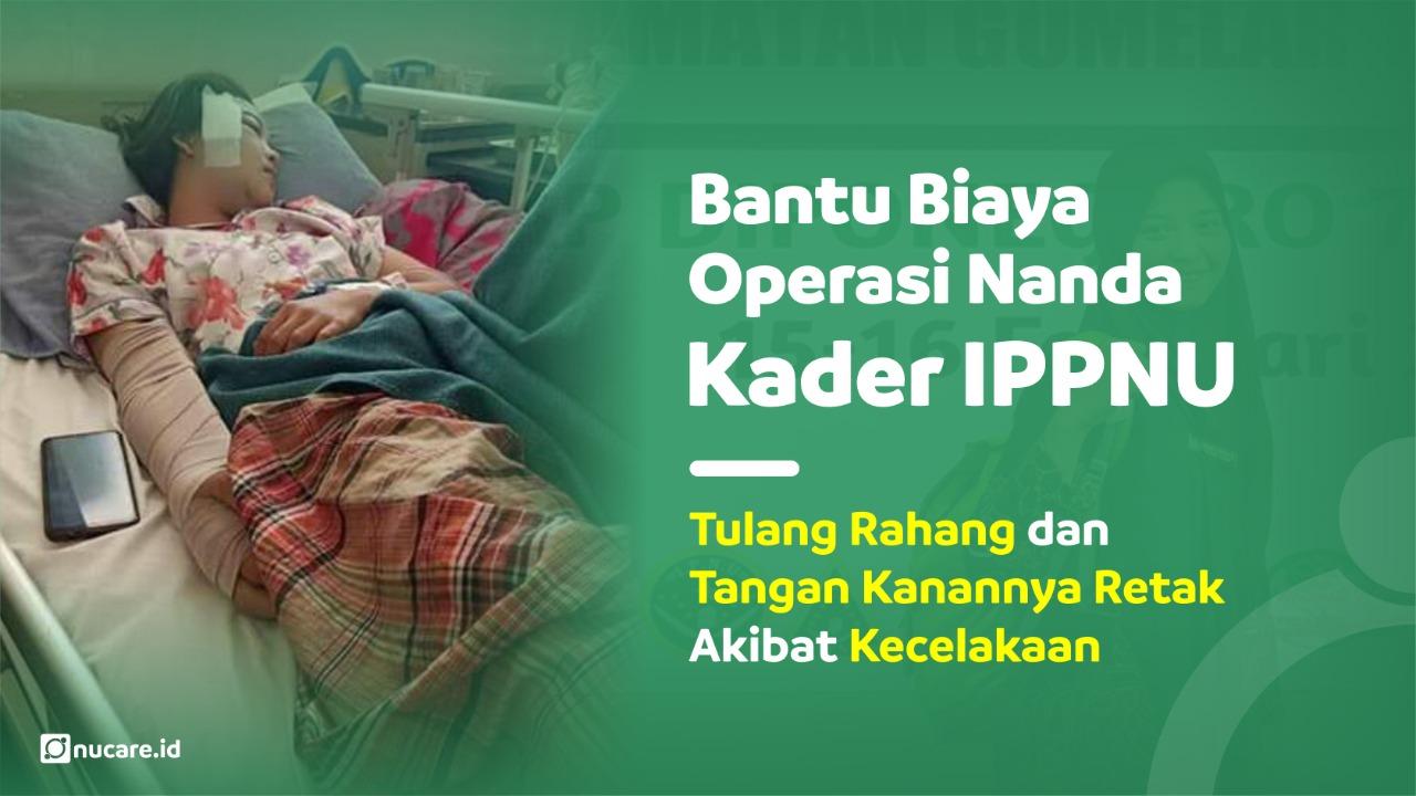 Urunan Biaya Operasi Tulang Rahang Nanda yang Retak Akibat Kecelakaan